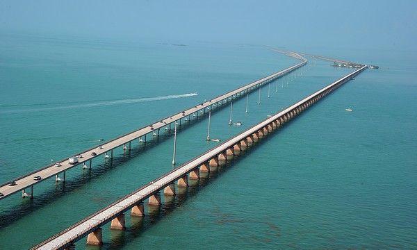 10. Florida Keys Seven Mile Bridge, Vereinigte Staaten