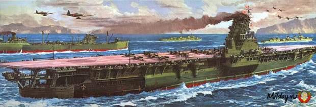 10. Flugzeugträger Shinano