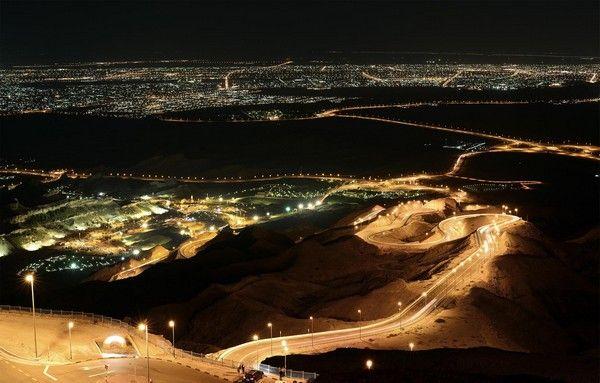 2. Strasse nach Jebel Hafeet (Road Jebel Hafeet), Vereinigte Arabische Emirate
