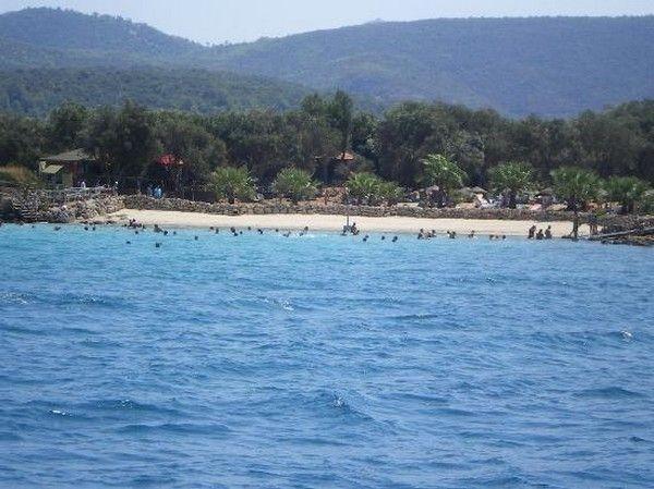 3. Strand auf der Insel von Cleopatra (Cleopatra Island), Marmaris