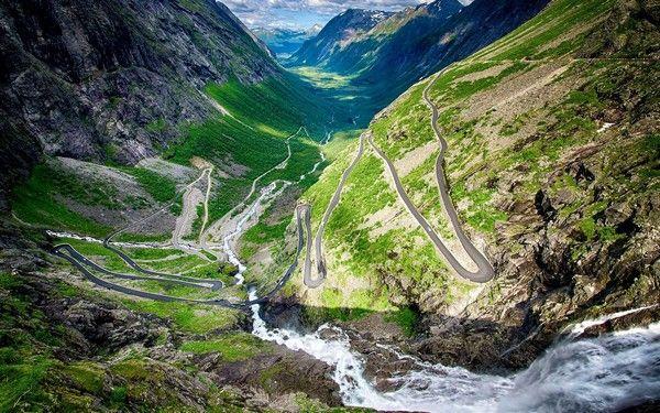3. Strasse der Trolle (Trollstigen), Norwegen