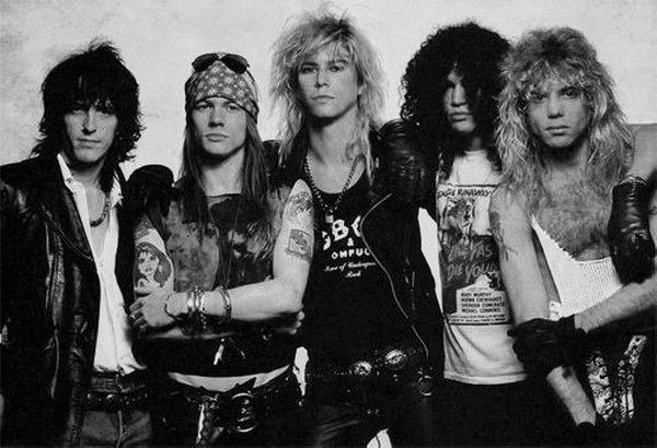 4. Guns N'Roses