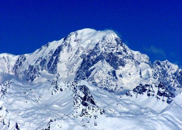 4. Mont Blanc, Italien  Frankreich, 4,810 m