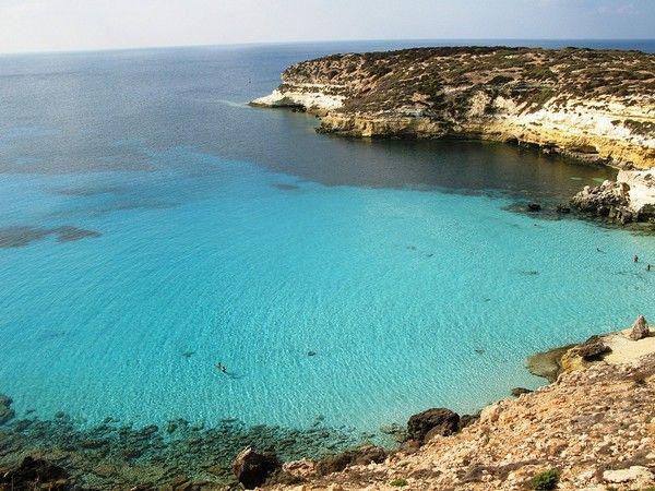 4. Rabbit Beach, Insel Lampedusa, Sizilien