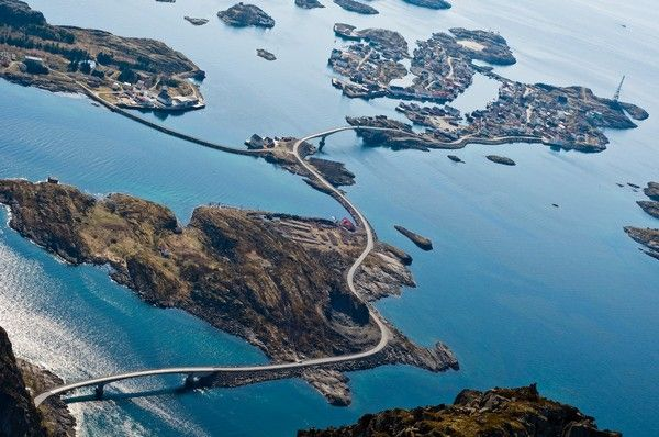 5. Atlantikstrasse (Atlantic Road), Norwegen