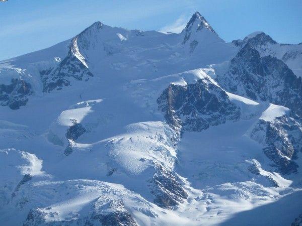 5. Dufour, Schweiz  Italien, 4,634 m