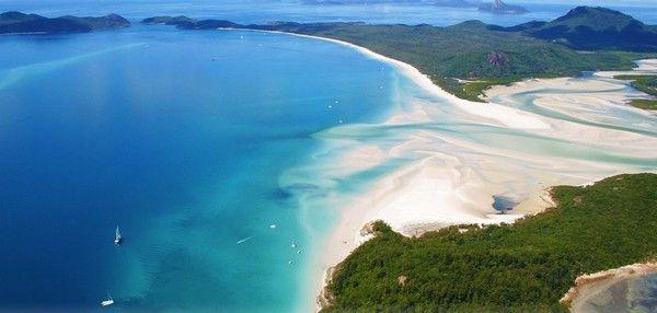 5. Strand Whitehaven Beach, Whitsunday Islands
