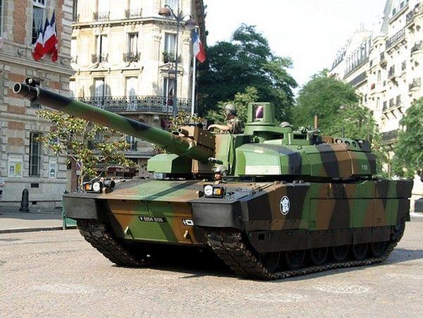 6. AMX-56 Leclerc (Frankreich)
