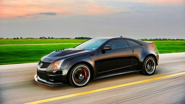 6. Hennessey VR1200 Twin Turbo Cadillac CTS-V Coupe
