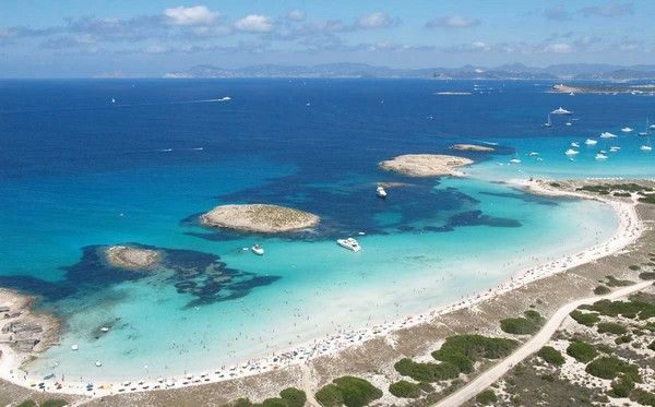 6. Playa de Illetes, Insel Formentera, Balearen