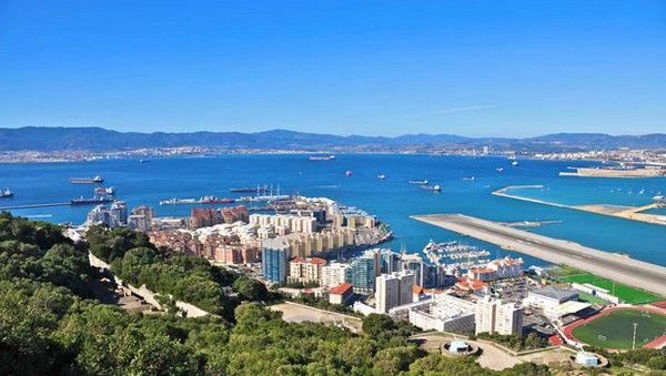 7. Flughafen von Gibraltar