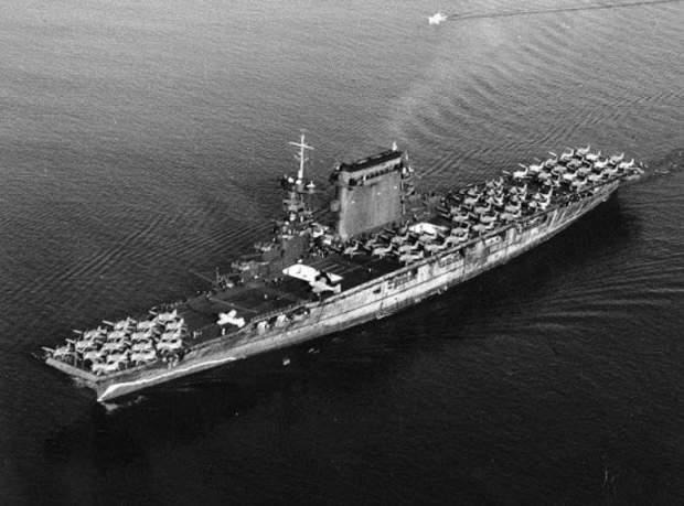 8. Flugzeugträger Lexington