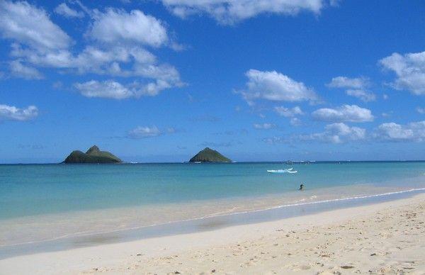 8. Lanikai Beach, Kailua, USA