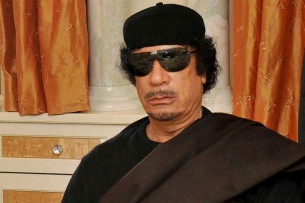 8. Muammar Gaddafi
