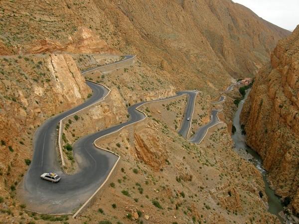 9. Dadès Gorges, Marokko