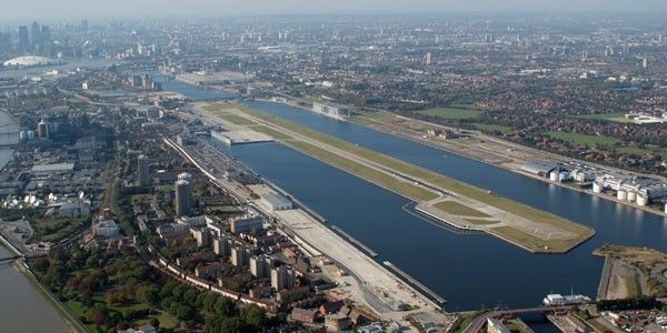 9. London City Airport