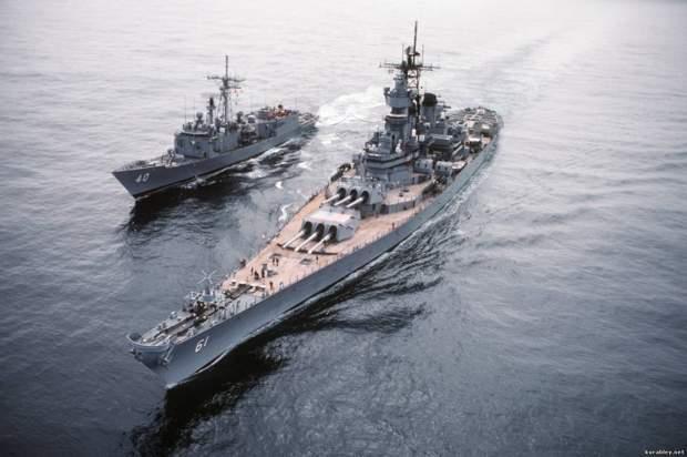 9. Schlachtschiff Iowa-Klasse