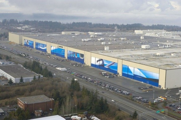 Boeing-Werk in Everett