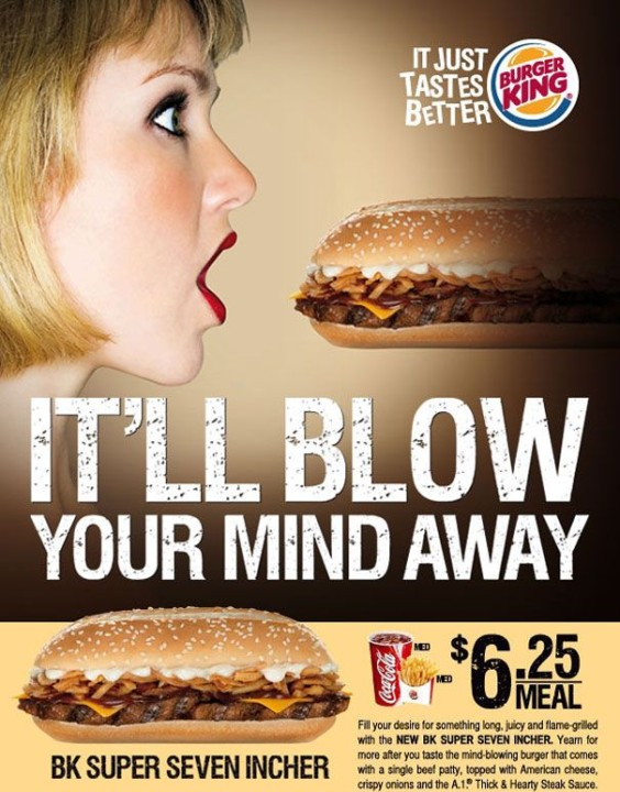 Burger-King-Es wird Blow your Mind Weg