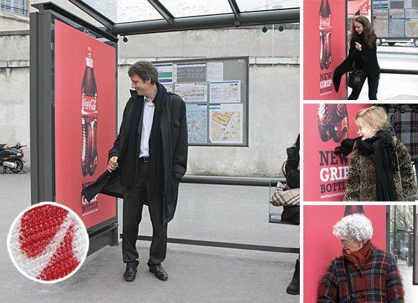 Coca Cola Neue Griff-Flasche
