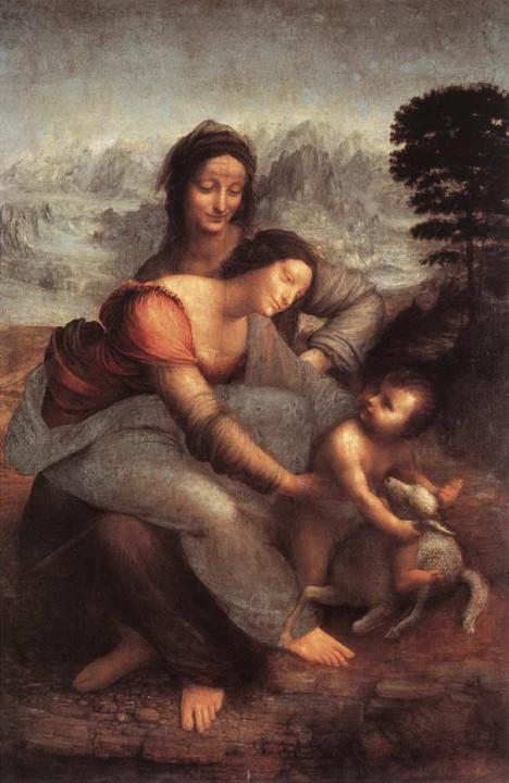 Die Jungfrau und Kind mit St Anne '