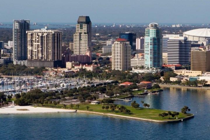 Die Umgebung von Tampa Bay