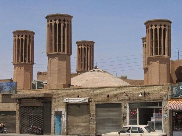 Die schöne Windtürme von Iran 1