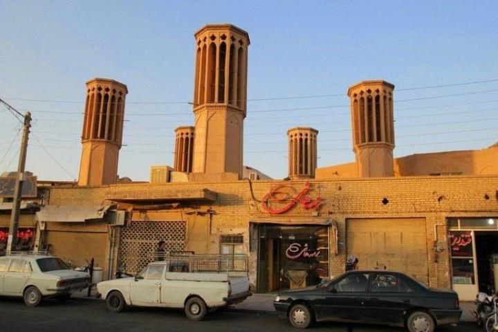Die schöne Windtürme von Iran 3