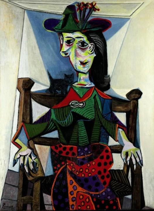 Dora Maar au Chat Von Pablo Picasso