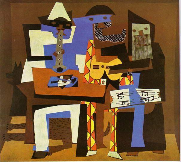 Drei Musiker Von Pablo Picasso