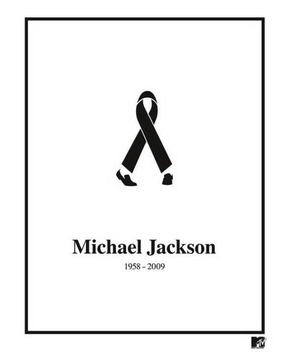 Farbband, schwarz Michael Jackson