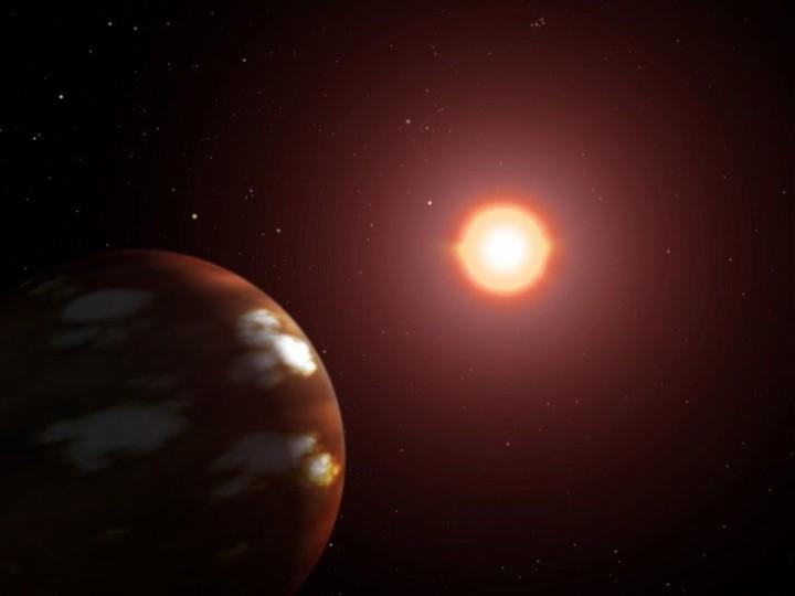 Gliese 436 b - Brennender Eiskugel