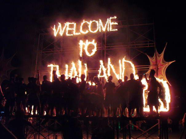 Haad Rin Strand in Koh Phangan