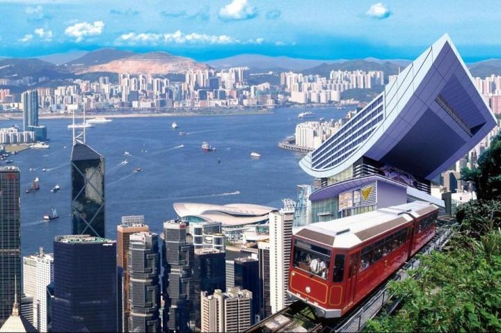 Haus №1, The Peak in Hongkong