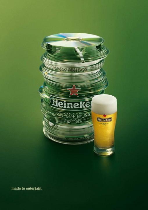 Heineken Gemacht, um zu unterhalten