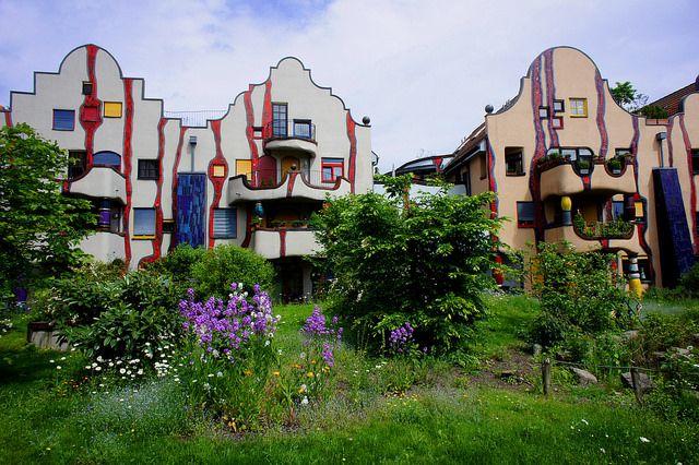 Hundertwasserhaus in Plochingen