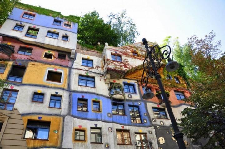 Hundertwasserhaus in Wien 1