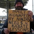 Karate-Unterricht