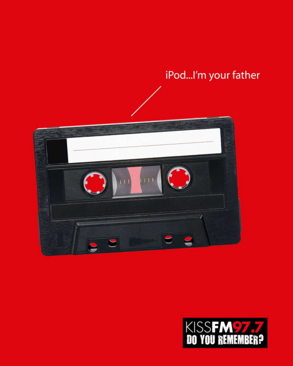 Kiss FM Ipod Advertisemet