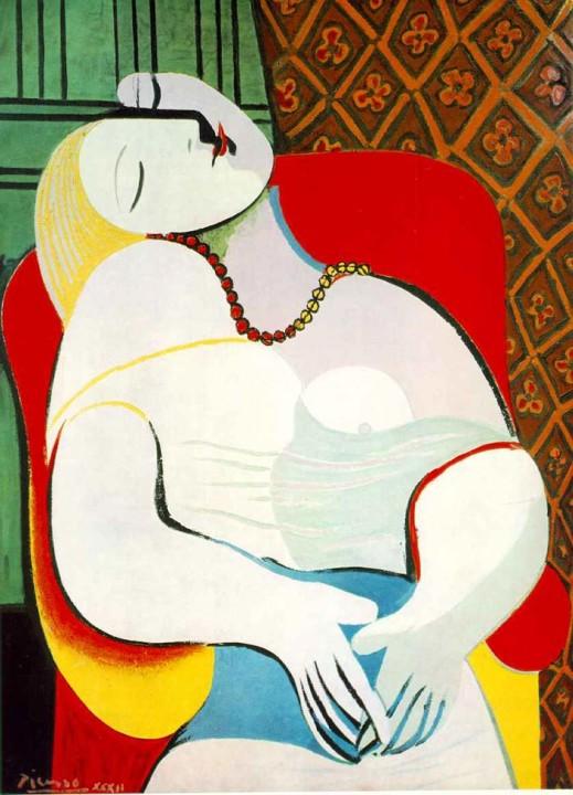 Le Rêve, Der Traum Von Pablo Picasso