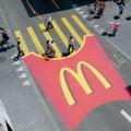 McDonalds Zebrastreifen