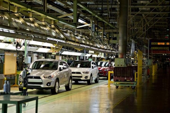 Mitsubishifabrik in Nordamerika