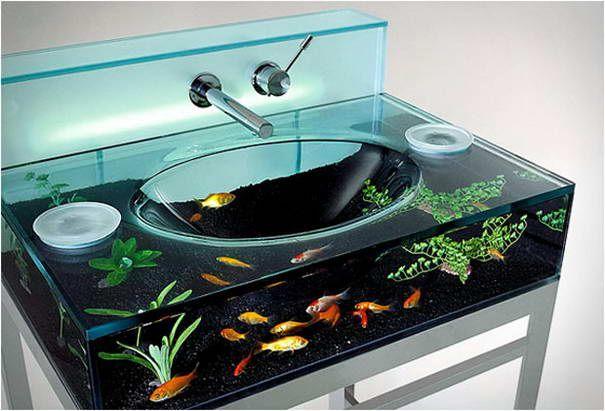 Moody Aquarium Waschbecken