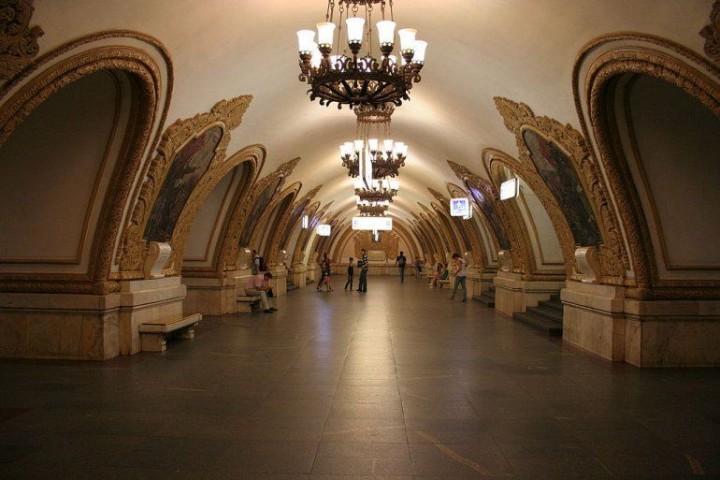 Moskauer Metro - 194 Stationen