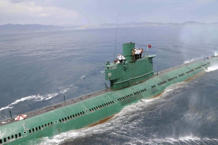 Nordkorea - 78 U-Boote
