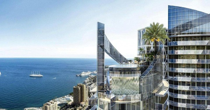 Odeon Turm in Monaco