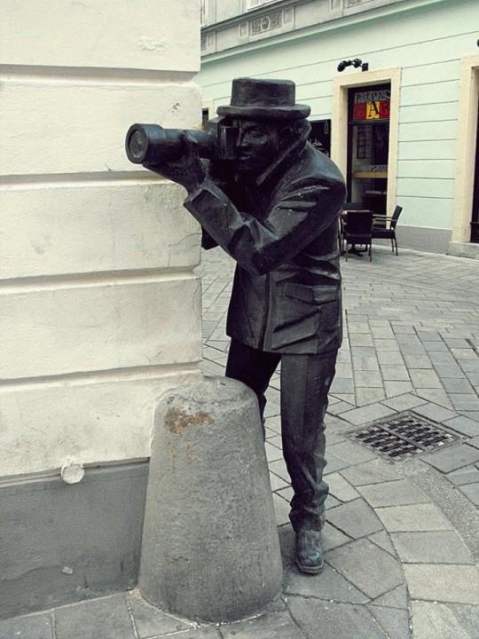 Paparazzi in Bratislava
