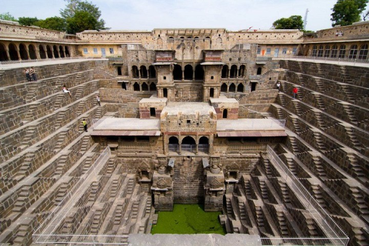 Quelle Chand Baoro in Indien