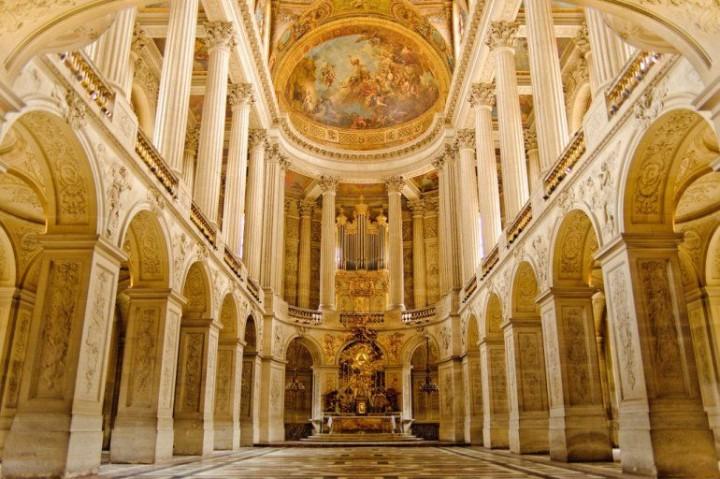 Schloss von Versailles in Paris