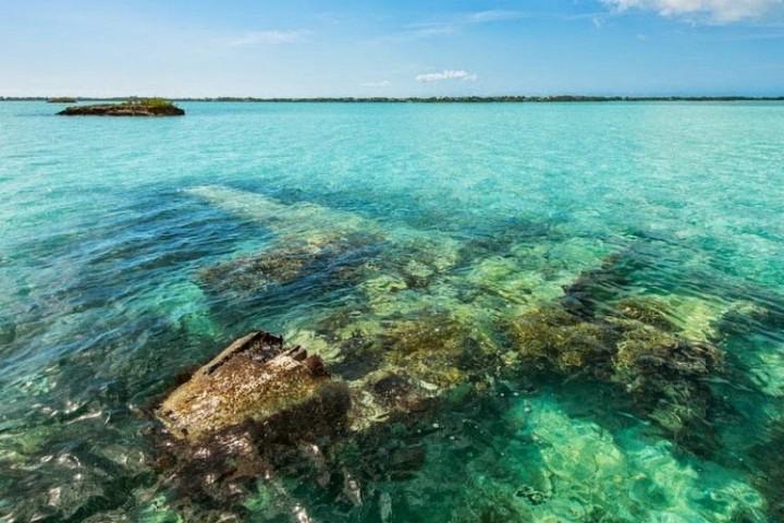 Schönheit der Lagune Chalk Sound 1